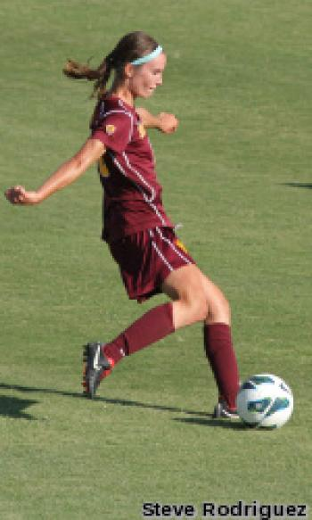 ASU junior defender Jasmine Roth