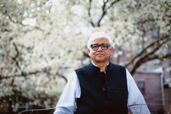 Author Amitav Ghosh (courtesy Emilio Madrid-Kuser)