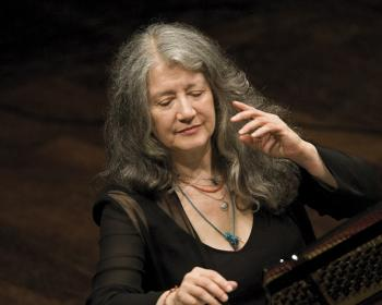 Legendary pianist Martha Argerich joins the panel of judges and performs