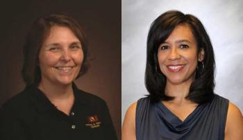 portraits of two ASU staff members
