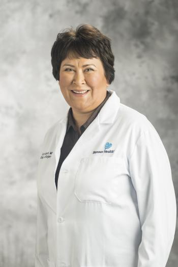 Navajo surgeon Lori Arviso Alvord