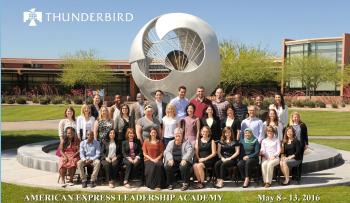 Thunderbird American Express Leadership Academy 2016