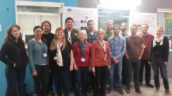 ASU team among the first user groups at Europe's brightest light