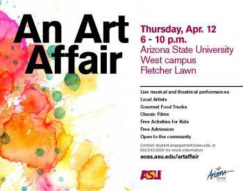Art Affair poster