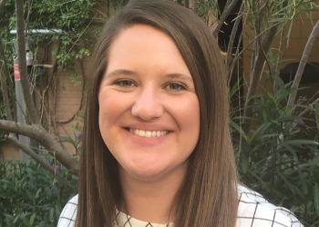 Ashley Funneman, Watts College of Public Service and Community Solutions overall outstanding graduate Fall 2019