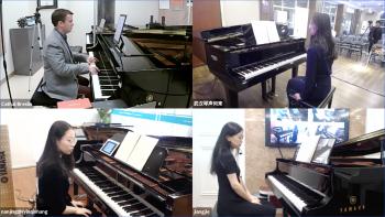 Virtual piano class