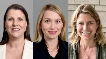 """headshots of three anthropologists, (from left to right) Alexandra Brewis, Amber Wutich and Sarah Trainer, co-authors of """"Extreme Weight Loss: Life Before and After Bariatric Surgery"""""""