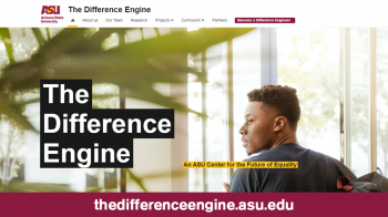 photo of The Difference Engine ASU website