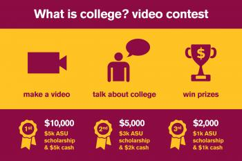 'What is College?' video contest