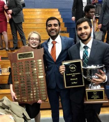 ASU forensics champions