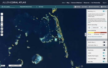 Atlas platform showing the new monitoring system