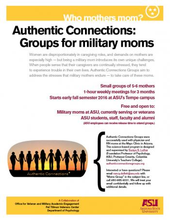 Authentic Connections poster