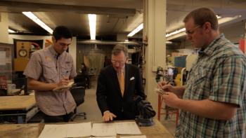 ASU students work with McGraw to design prize