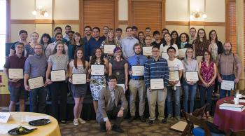 The 2019 SMS award and scholarship recipients.