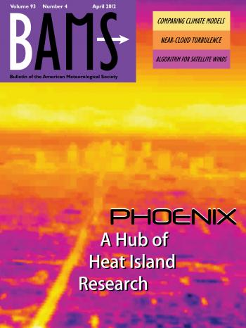 April cover image of the Bulletin of the American Meteorological Society