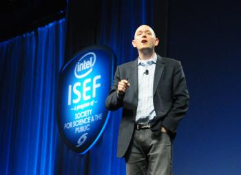 Brian David Johnson at Intel International Science and Engineering Fair 2013