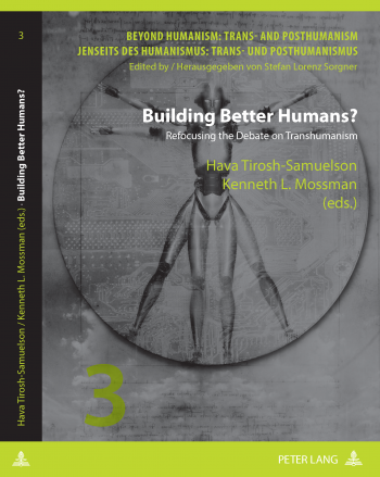 "Cover Image for ""Building Better Humans?"", Peter Lang publishers"