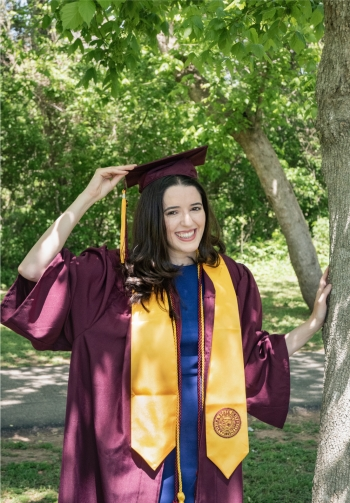 ASU Dean's Medlist for the School of Politics and Global Studies Bianca Navia