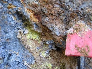 A Deposit Of Antibacterial Blue Clay In Oregon Photo By Lynda Williams Asu Full Image