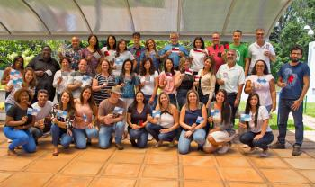 Brazilian K-12 Educators pose at Arizona State University