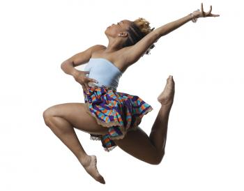 Dancer and choreographer Camille A. Brown