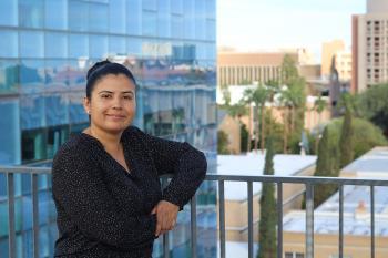 Army veteran and global studies major at ASU, Carla Castillo