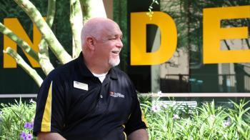 ASU advising leader Casey Self on ASU's Downtown Phoenix campus