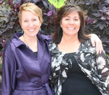Monica Casper and Julie Amparano