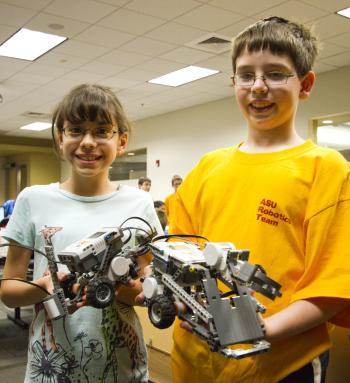 ASU summer robotics camps