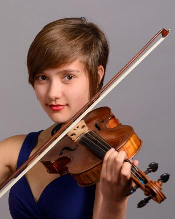 ASU School of Music student Clarice Collins
