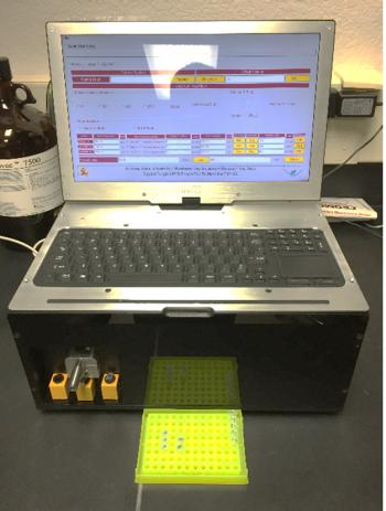 ddPCR Bioanalytical Field Instrument microbial analysis machine