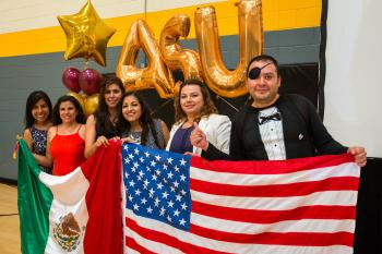 Teachers from Mexico at the COMEXUS graduation