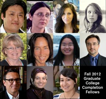 Graduate College Completion Fellows Fall 2012