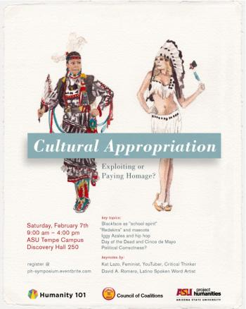 Cultural Appropriation symposium poster