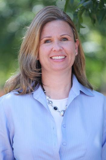 Cynthia Lietz, associate dean with the College of Public Programs