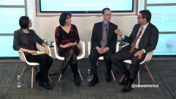 Panel discussion at New America
