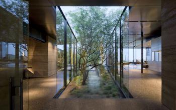 Desert Courtyard House by architect Wendell Burnette