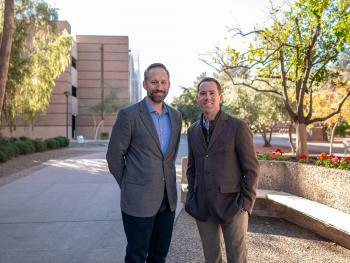 Don Stenhoff and Adam Hahs of the MSABA Program
