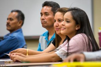 Families attend the American Dream Academy parent-empowerment program.