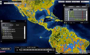 drought monitoring platform