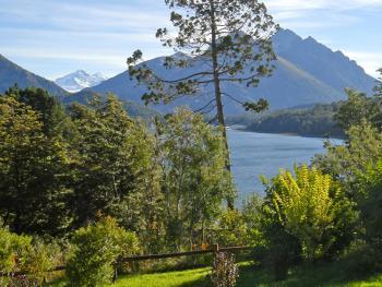 Alpine lake in Patagonia, Argentina