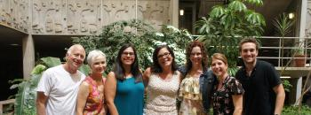 Picture of 7 faculty and grad students from ASU