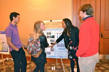 School of Life Sciences students share their research.