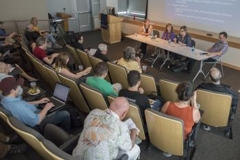 ASU Climate Fiction panel in April 2015