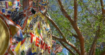 mosaic art piece in Tempe, AZ