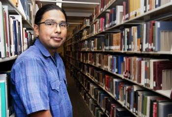 Alexander Soto graduated with a bachelor's degree in American Indian Studies from The College of Liberal Arts and Sciences this spring.