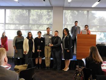 HUES Award ceremony with ASU
