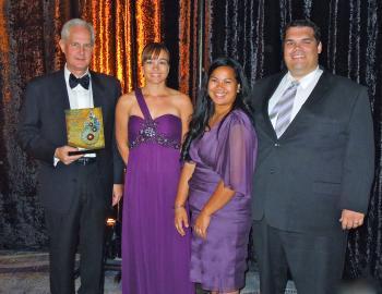 Professor Wayne Frasch receives the 2012 Innovator of the Year Award in Academia