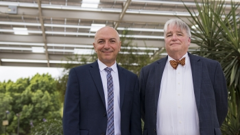Bertan Bakkaloglu and Dale Rogers, ON Semiconductor Endowed Professors of Engineering and Business