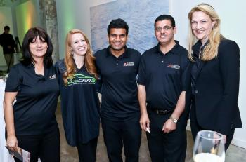 ASU's EcoCAR 3 team representatives